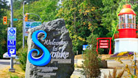Sooke Welcome sign